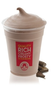 mock wendys frosty